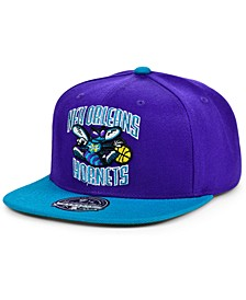 New Orleans Hornets Wool 2 Tone Fitted Cap