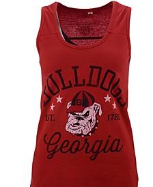 Women's Georgia Bulldogs Jersey Tank