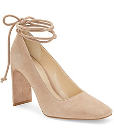 Damell Ankle-Tie Pumps
