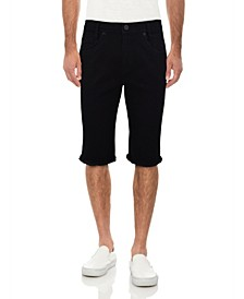 Men's Frayed Denim Short
