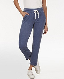 Plus Size Crop Knit Jogger Pant