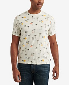 Men's Sunny Day Allover Crew Neck T-shirt