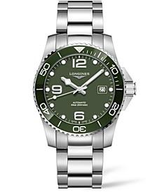 Men's Swiss Automatic Hydroconquest Stainless Steel Bracelet Watch 43mm