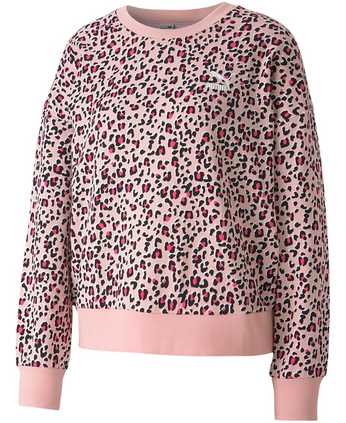 Puma - Classics Cotton Printed Sweatshirt