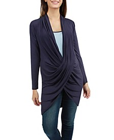 Luna Crossover Maternity Tunic with Cami