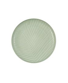 It's My Match Leaf Round Plate