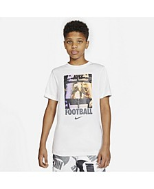 Big Boys Football Huddle Cotton T-Shirt