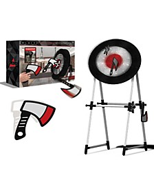Game Axe and Throwing Star Target Set