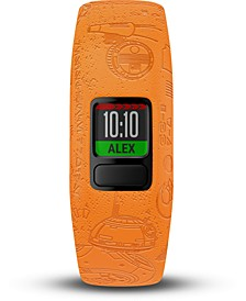 Kid's vivofit jr. 2 Light Side Orange Silicone Strap Touchscreen Smart Watch 43mm