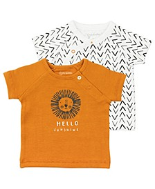Baby Girls 2-Pack Short Sleeve Tees