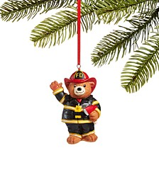 All About You, Firefighter Bear Ornament, Created for Macy's