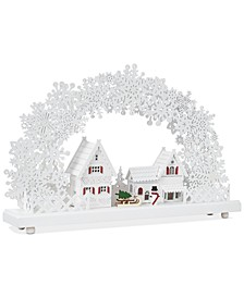 Chalet You Stay, Laser Cut Winter Village, Created for Macy's