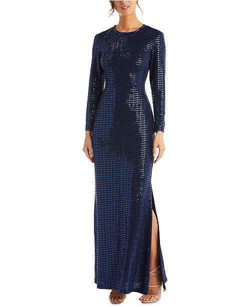 Morgan & Company Juniors' Sequined Gown