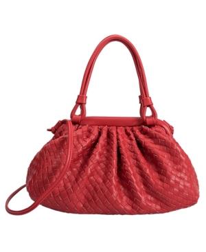 Ellise Medium Top Handle Vegan Leather Bag