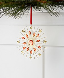 Renaissance Beaded Starburst Ornament, Created for Macy's