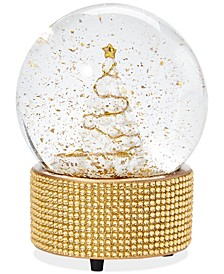 """Shine Bright,  Musical Water Globe """"We Wish You a Merry Christmas"""", Created for Macy's"""