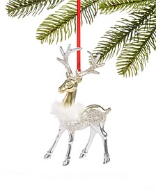 Shine Bright Reindeer Ornament Created for Macy's