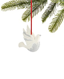 Snow Daze Porcelain Dove Ornament, Created for Macy's