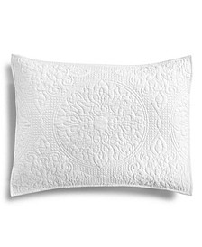Quilted Medallion Standard Sham, Created for Macy's