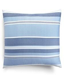 Coastal Stripe 300-Thread Count Euro Sham, Created for Macy's