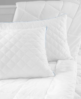 Charisma Hybrid Jumbo Bed Pillow with Gel-Infused Memory Foam Clusters and Cooling Gel Beads, 2 Pack