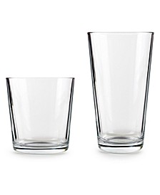 Simple Home Entertaining Glasses, Set of 12