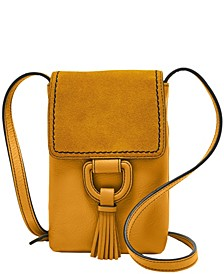 Women's Bobbie Phone Crossbody with Nubuck Flap