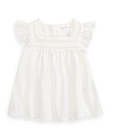 Baby Girls Knit Flutter-Sleeve Top