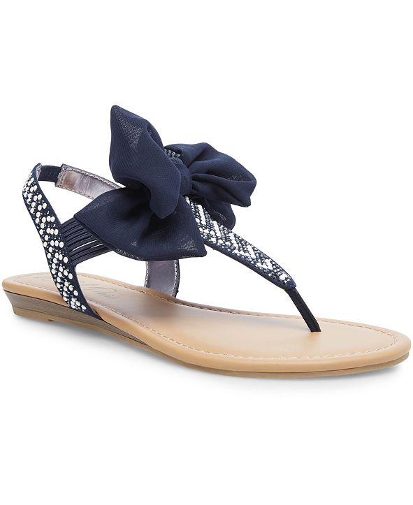 Wild Pair Swan Flat Thong Sandals, Created for Macy's
