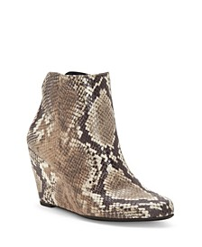 Women's Ronica Wedge Booties