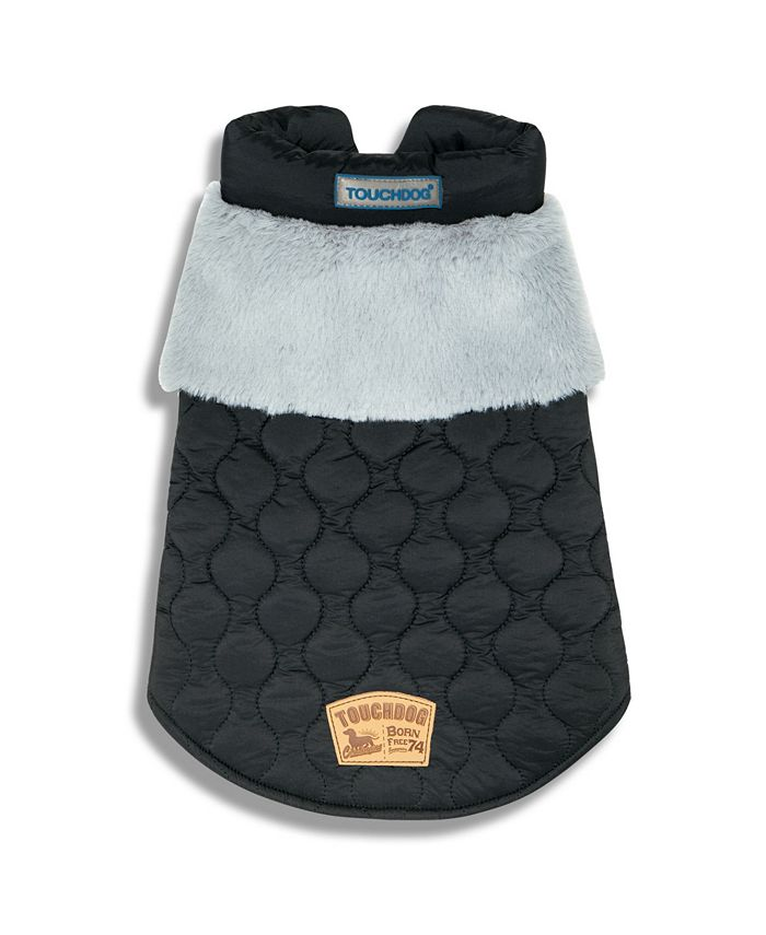 Touchdog - 'Furrost-Bite' Faux Fur and Fleece Fashion Dog Jacket