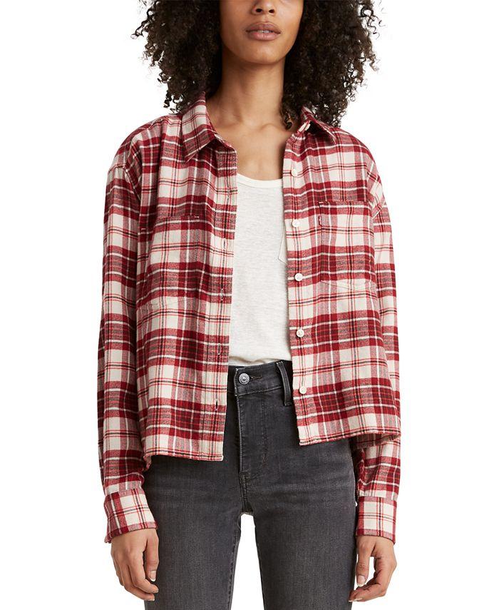 Levi's - Maple Cotton Plaid Utility Shirt