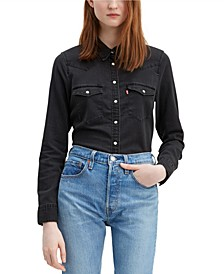 The Ultimate Western Cotton Denim Shirt