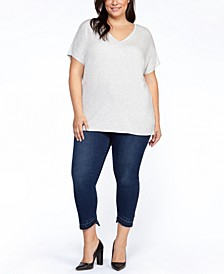 Plus Size Strappy-Back T-Shirt