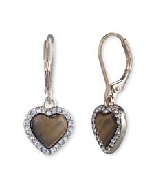 Heart Drop Earring