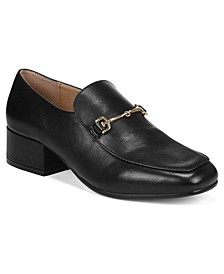 Jamille Block-Heel Loafers