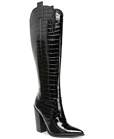 Vanya High-Heeled Western Boots