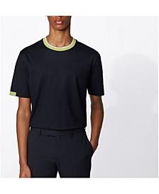 BOSS Men's Tiburt Stretch Cotton T-Shirt
