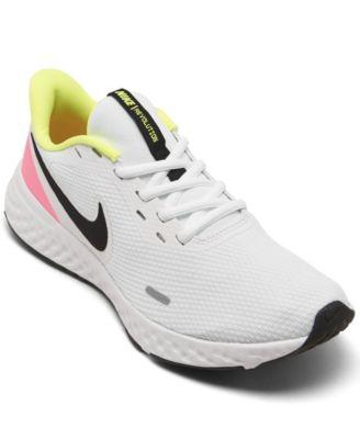 women's reax run 5 running sneakers from finish line