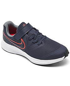 Little Boys Star Runner 2 Rebel Stay-Put Closure Running Sneakers from Finish Line