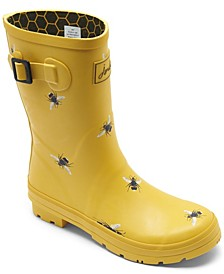 Women's Molly Welly Mid Height Rain Boots from Finish Line