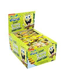 Giant Gummy Krabby Patty Original Packs, 36 Count