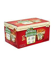 Microwavable Bowls Variety Pack, 7.5 oz, 12 Count