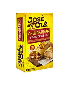 Steak Cheese Chimichangas, 16 Count