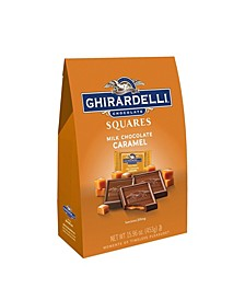 Squares Milk Chocolate Caramel, 15.9 oz
