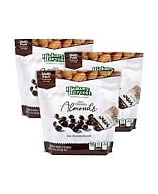 Dark Chocolate Almonds Multi, Pack of 3