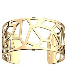 Exotic Spot Openwork Adjustable Cuff Girafe Bracelet, 25mm, 1in