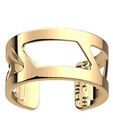 Gold-Tone Large Ruban Ring, 8mm 0.3in