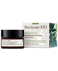 Hypoallergenic CBD Sensitive Skin Therapy Soothing & Hydrating Eye Cream, 0.5-oz.