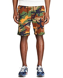 Men's Camo-Print Fleece Shorts